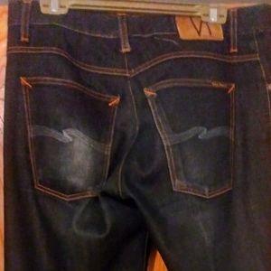 Vintage Selvedge Nudie Jeans 100% Organic 36x34